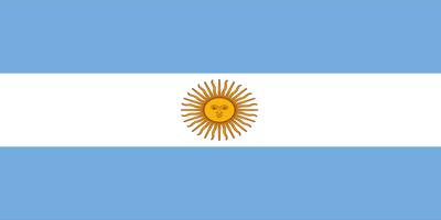 Dịch vụ Visa Châu Mỹ - Quốc kỳ Argentina