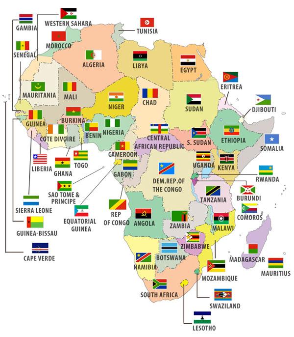 Các quốc gia thuộc khu vực Châu Phi