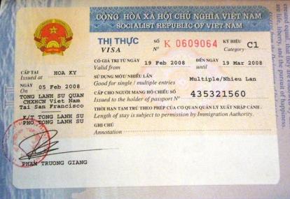 Visa nhập cảnh Việt Nam nhiều lần