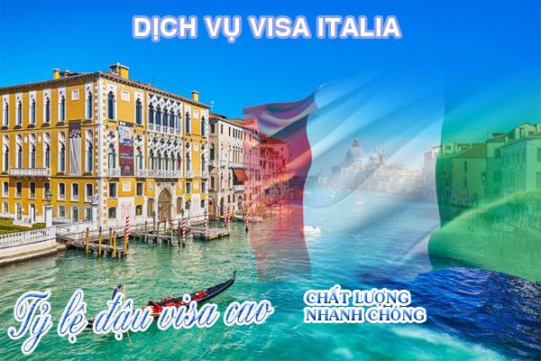 Dịch vụ visa Ý có thể dùng chung cho 26 châu Âu