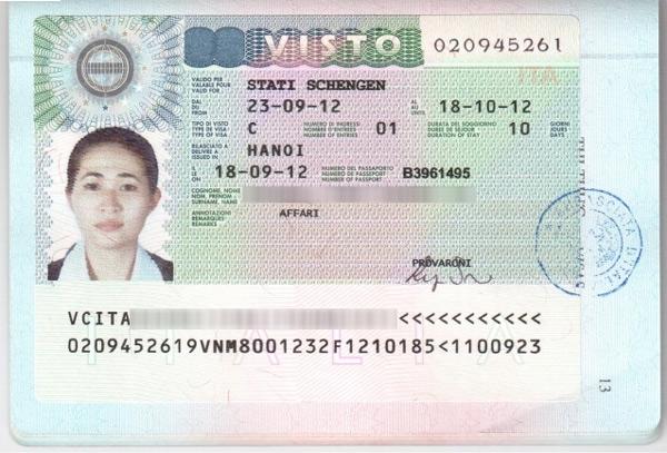 Visa Ý là 1 trong những visa quyền lực nhất thế giới