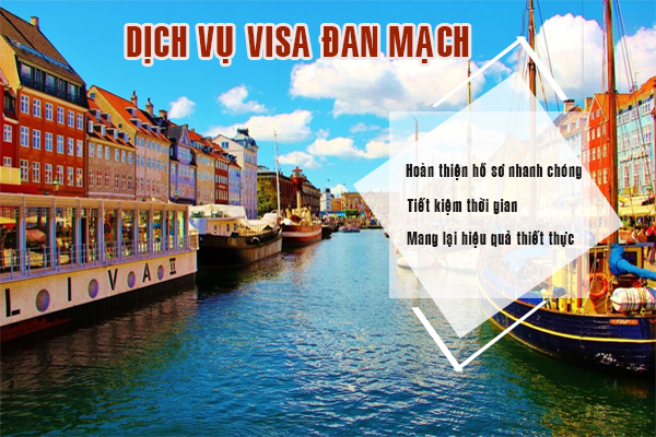 Dịch vụ visa Đan Mạch thường mất 15 ngày sẽ có kết quả
