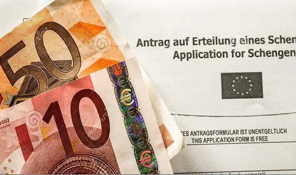 Lệ phí khi xin Visa du lịch Ý