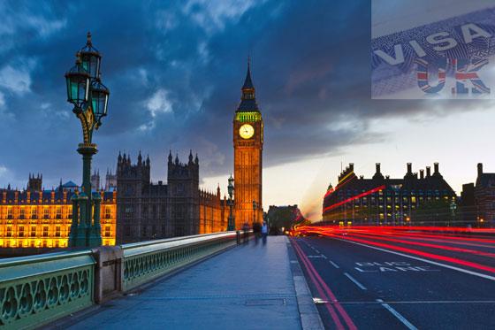 Dịch vụ xin Visa Anh uy tín chất lượng cao