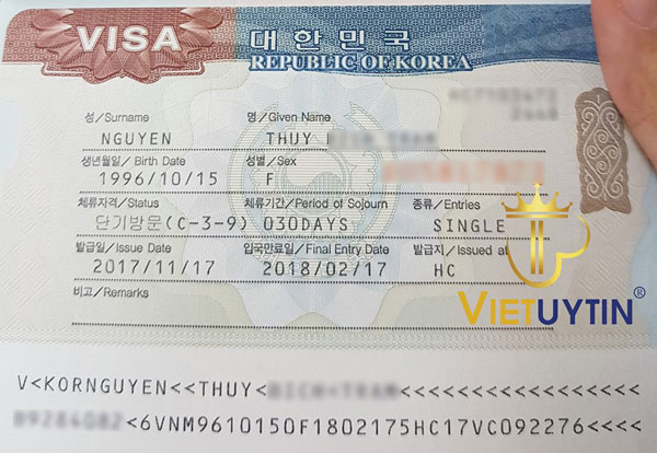 Chị Thùy nhận thành công Visa Hàn Quốc dù hồ sơ khó