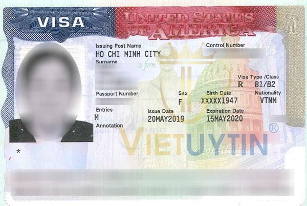 Visa Mỹ của cô Tuyết được gia hạn