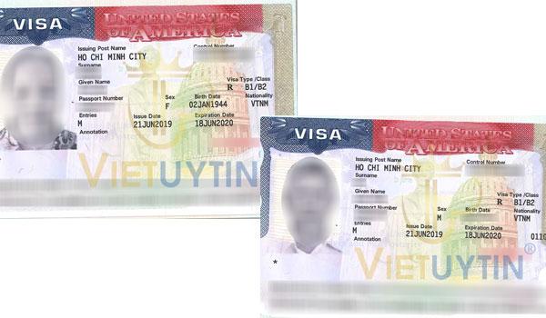 Visa được gia hạn của chú Trất và cô An