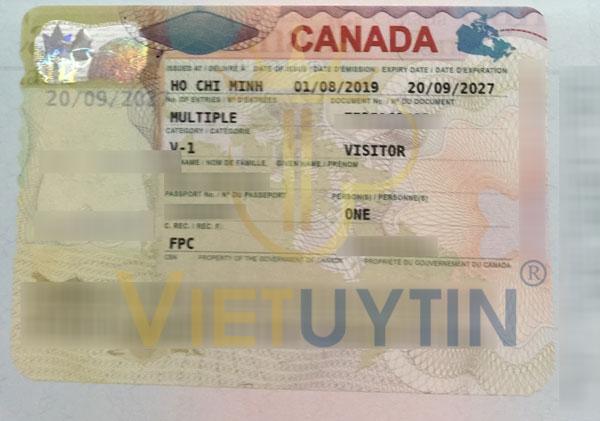 Visa thăm thân Canada của cô Lan