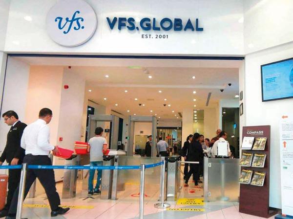 Các bạn nộp hồ sơ xin visa Úc tại VFS Global