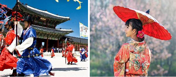 Tháng 3, 4, 10 và tháng 11 là thời gian cao điểm xin visa Nhật và Hàn