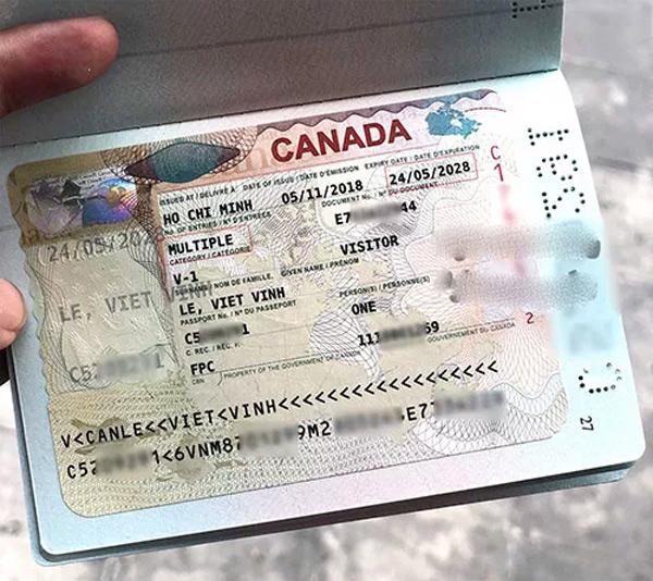 Có visa Canada xin visa điện tử một số nước cũng dễ dàng hơn