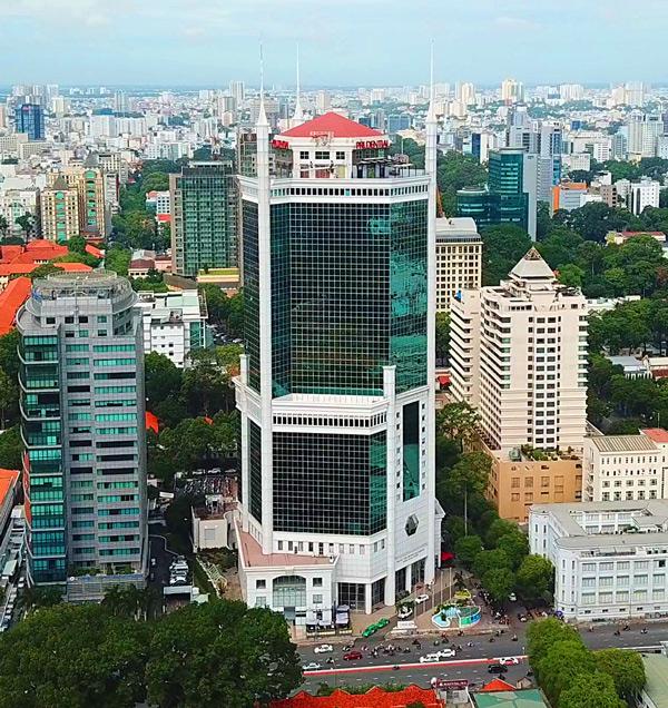 Địa chỉ làm visa Trung Quốc tại P1607-1609, Lầu 16, SaiGon trade center