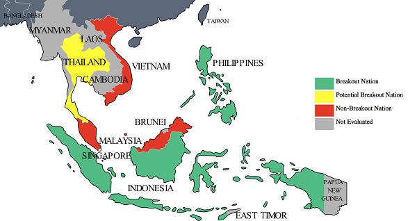 Các nước Đông Nam Á miễn phí visa cho Việt Nam