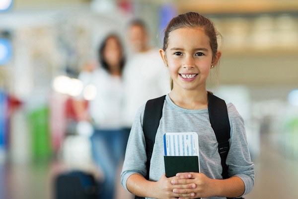 Hộ chiếu cho trẻ em có thời hạn 5 năm