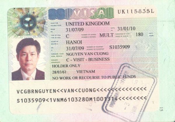 Visa Anh Quốc có tỷ lệ thành công khá thấp