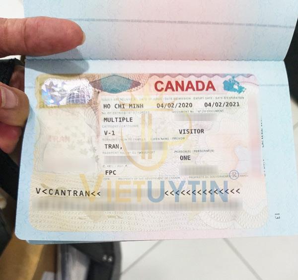 Visa thăm thân Canada của chị Liên