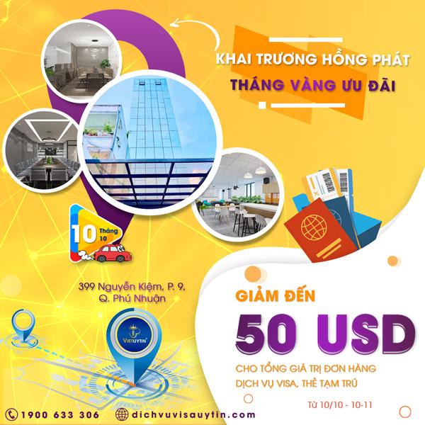 Nhân dịp chuyển trụ sở công ty, Việt Uy Tín xin triển khai chương trình khuyến mãi vô cùng hấp dẫn